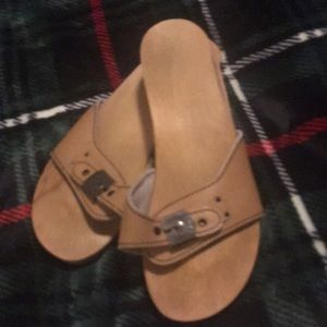 Women's Dr. Scholl's Original Wooden Sandals 8